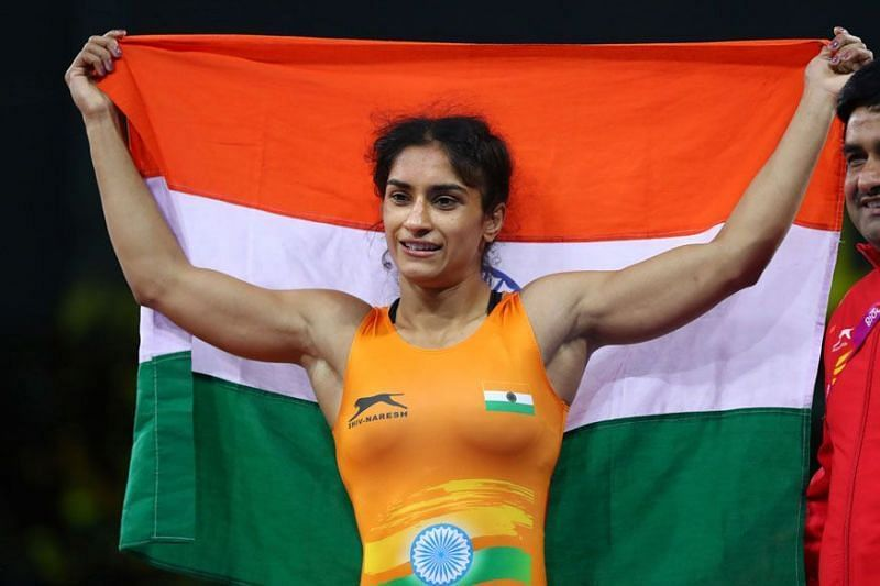 Vinesh Phogat had won the Gold medal at the 2018 Commonwealth Games
