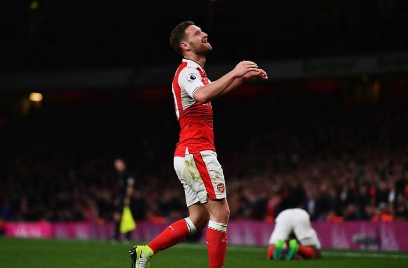 Mustafi has flattered to deceive since his arrival at the Emirates
