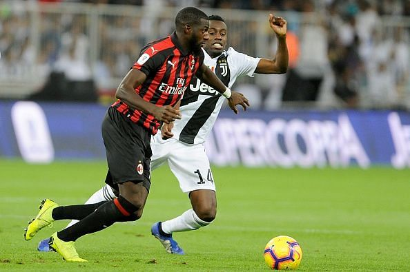 AC Milan will be hoping to set aside the disappointment of losing the Super Coppa Italiana