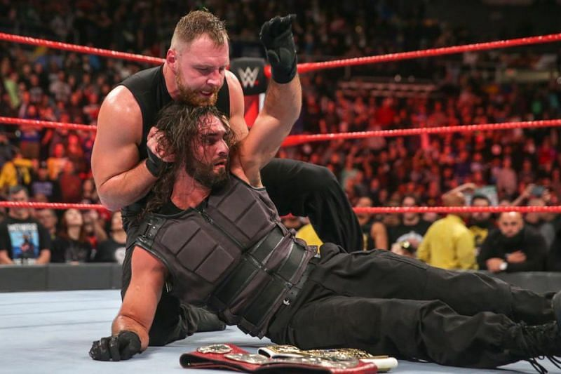 The former Shield brothers have been facing each other at live events.