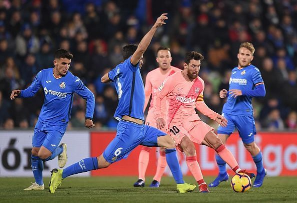 It was a spirited performance from the Madrid based side and they did not fall to a landslide victory. Getafe made Barcelona sweat for the whole of the second half