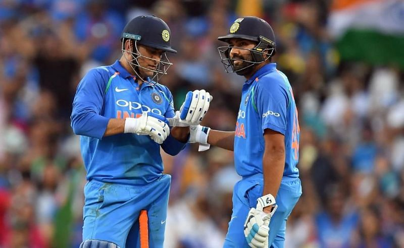 Dhoni And Rohit