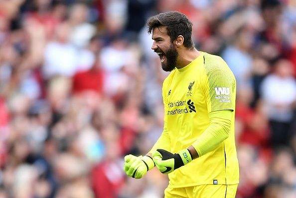 Alisson Becker is playing an important role for Liverpool this season