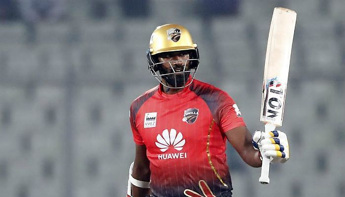 Sri Lankan all-rounder Thisara Perera stunned BPL spectators in his first match of BPL 6 hitting an explosive fifty