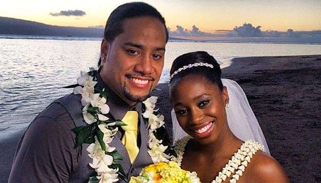 Naomi and Jimmy Uso are a couple both on and off screen