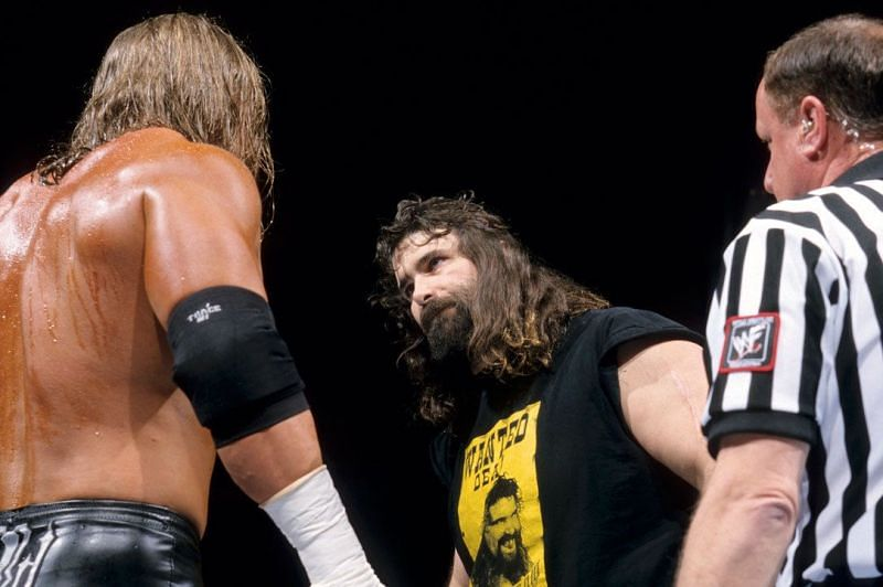 Triple H vs Cactus Jack (Royal Rumble 2000 street fight for the WWE Championship)