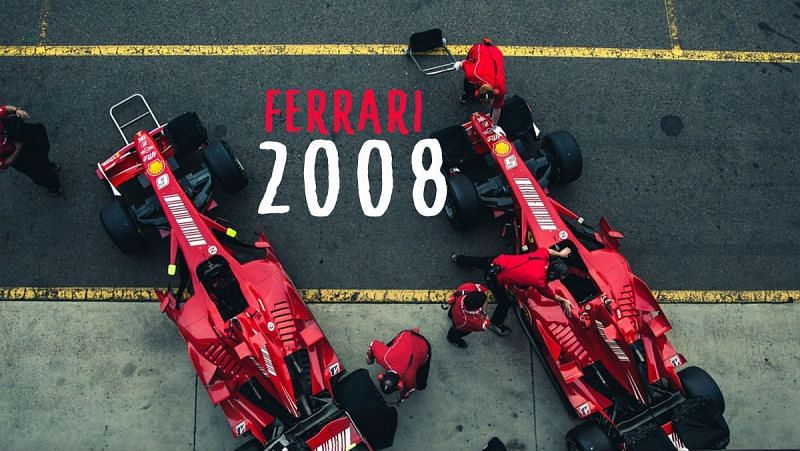 The cars driven by Massa and Raikkonen gave Ferrari their 2008 title
