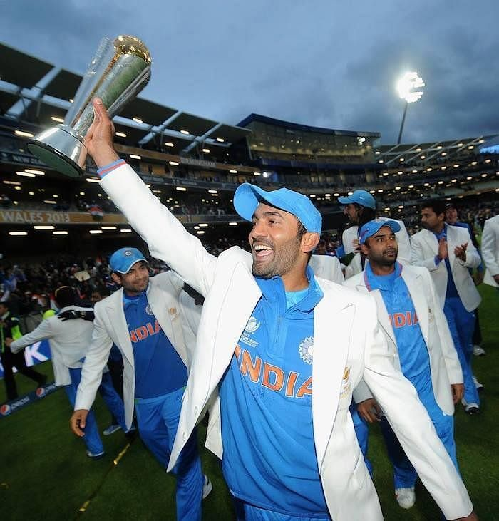 2013 chapions trophy DK played vital role for India