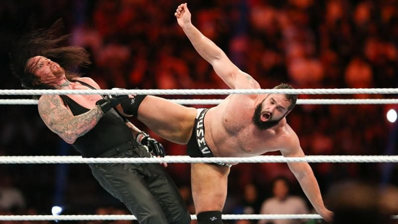 Rusev had great things to say about facing The Undertaker