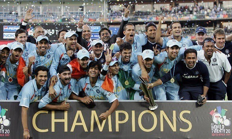 India won 2007 t20 worldcup