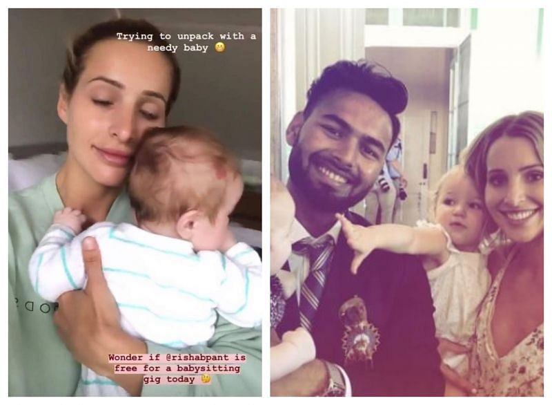 Tim Paine S Wife Asks For Rishabh Pant S Availability To Babysit Her Kids