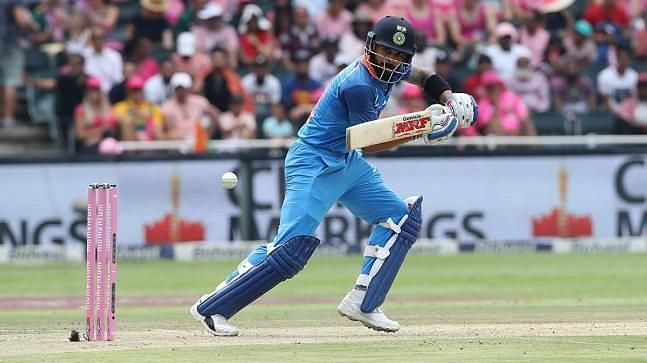 Kohli amassed 558 runs to lead India to a historic ODI series victory in South Africa