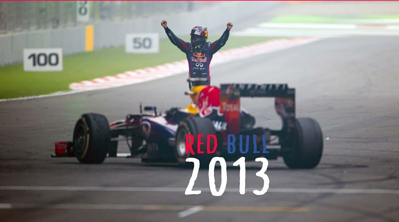 Red Bull and Vettel were miles ahead of the rest in 2013