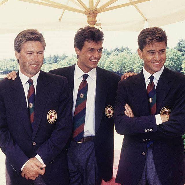 Ancelotti, Maldini and Costacurta