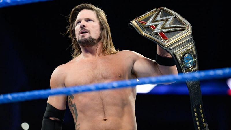 AJ Styles has been in the WWE Championship picture for a long time