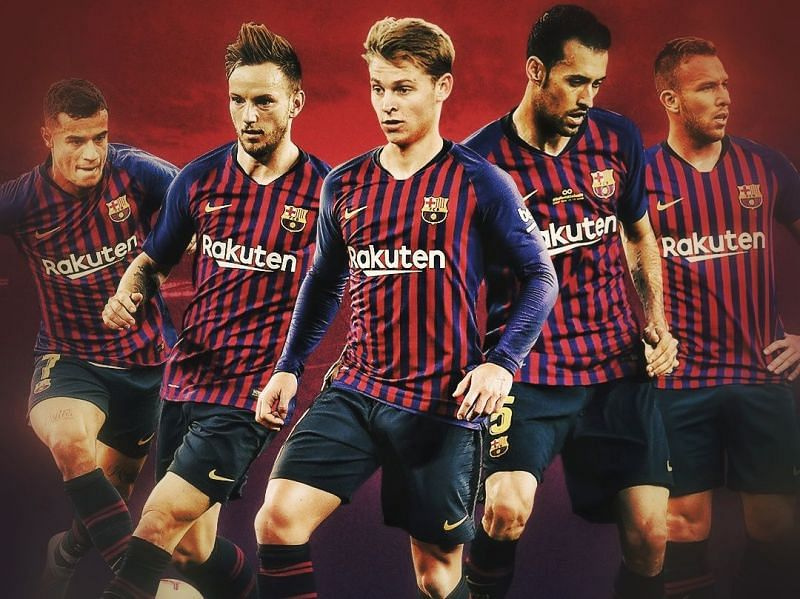 How Barcelona can line up in 2019 with Frenkie De Jong