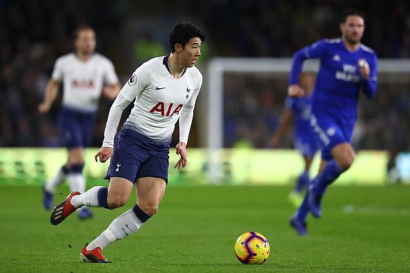 Son Heung-Min has been in good form for Tottenham Hotspur