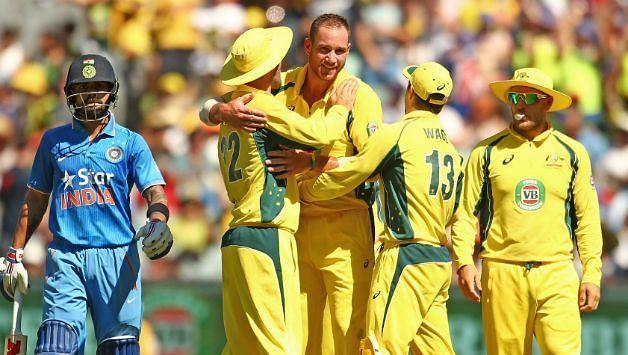 Image result for Australia vs India ODI series