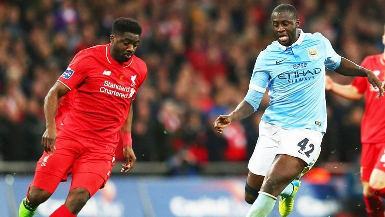 Kolo Toure signed for free from Manchester City in 2013
