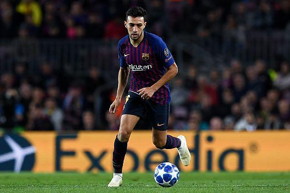 Barcelona announced Munir