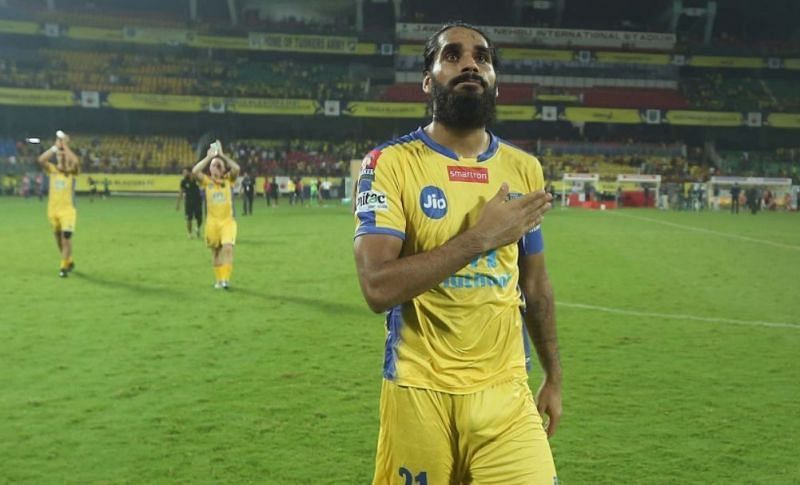 Sandesh Jhingan might be the next high-profile star to leave Kerala Blasters after CK Vineeth