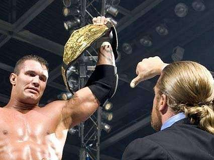 Triple H betrayed Randy Orton on the RAW after SummerSlam