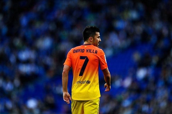 Former Barcelona Star David Villa is currently playing in the MLS