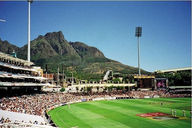 Newlands Cricket Ground, truly a new age beauty.