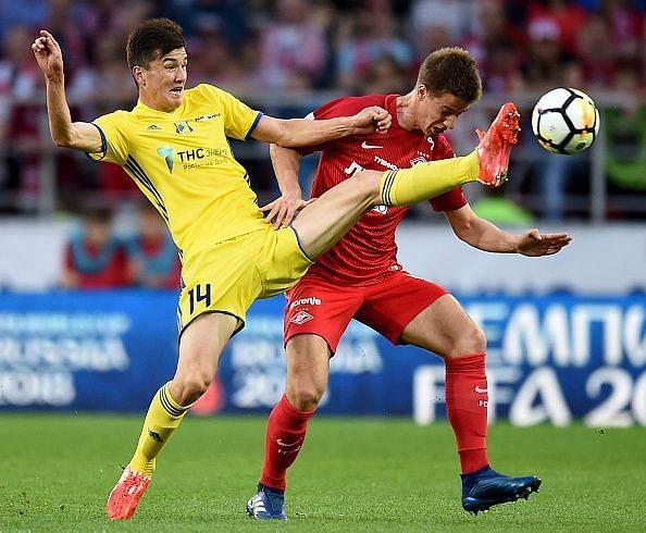 Eldor Shomurodov in the yellow jersey has already struck thrice for Uzbekistan