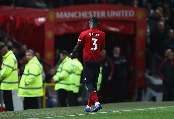 Eric Bailly has failed to cement a place in the starting XI at Manchester United