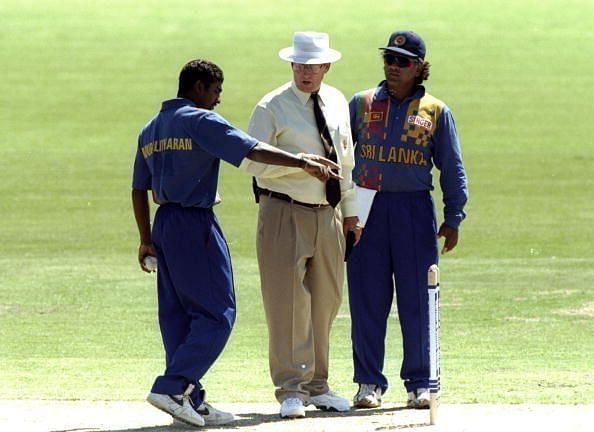 Carlton & United Muttiah Muralitharan and Arjuna Ranatunga