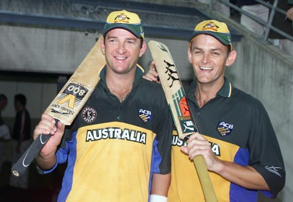 Gilchrist and Mark Waugh