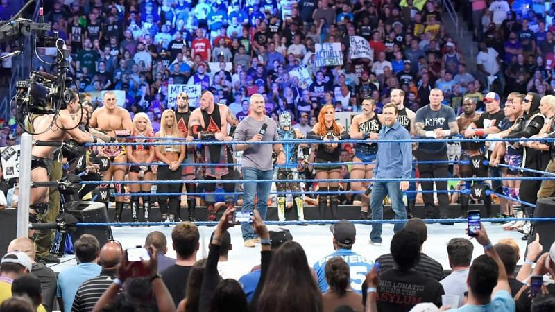SmackDown started airing on Tuesdays from July 2016