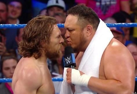 samoa joe and daniel bryan