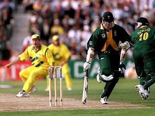 1999-ம் ஆண்டு அரையிறுதிப் போட்டி: தேவையற்ற ரன் அவுட்டால் தோல்வியடைந்த தென்னாப்பிரிக்கா