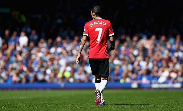 di Maria had a year to forget at Manchester United