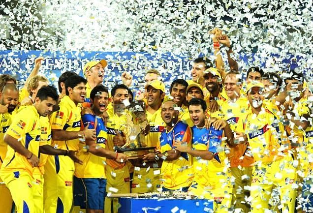 Chennai Super Kings won the title last year after making a comeback after two years of suspension