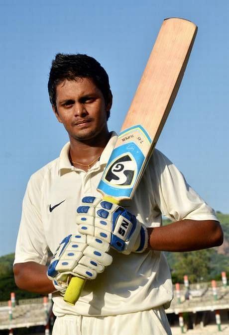 Karan Shinde was adjudged the Man of the Match for his unbeaten century