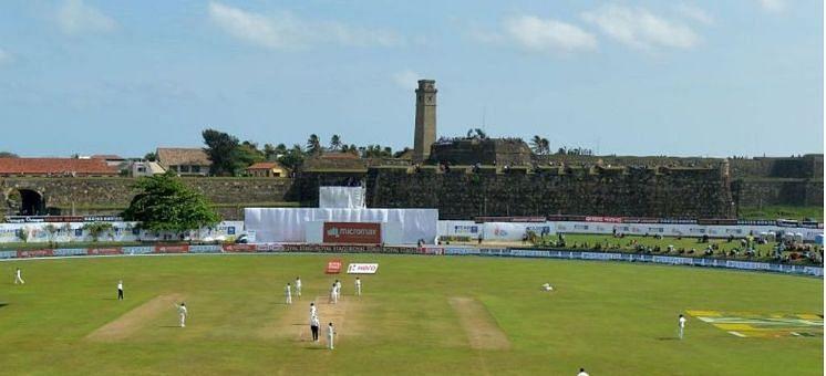 Galle International stadium - A happy hunting ground for Sri Lanka.