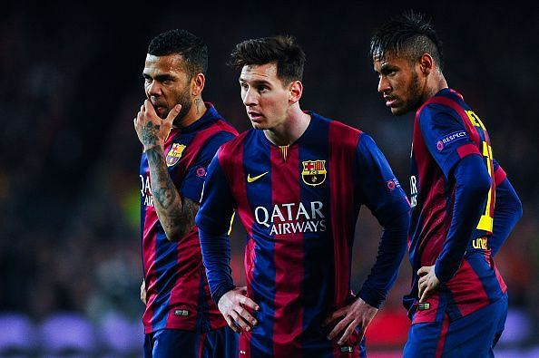 Lionel Messi has shared the dressing room with many fantastic superstars at Barcelona
