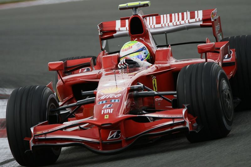 Felipe Massa started as the number 2 driver for Ferrari but won the most (six) races