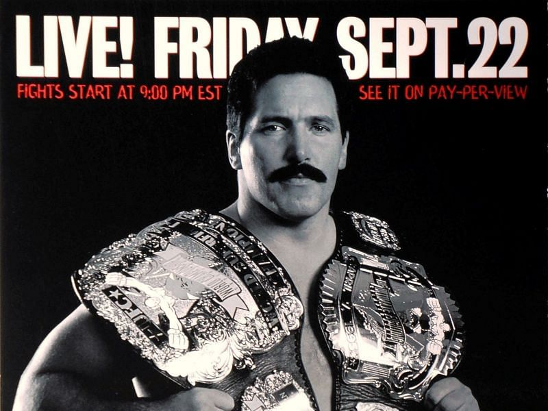 Dan Severn fought his final fight for the UFC at UFC 27
