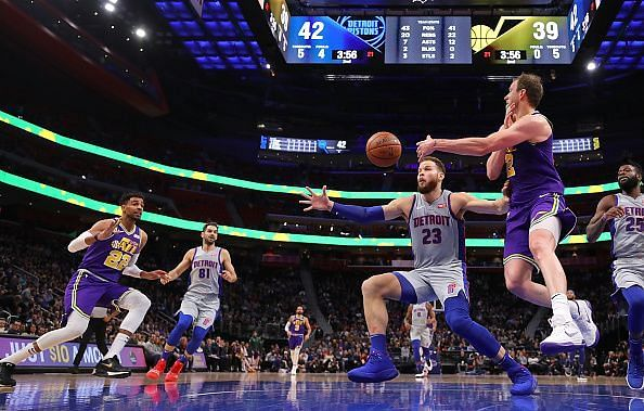 The Detroit Pistons have been a streaky team all season