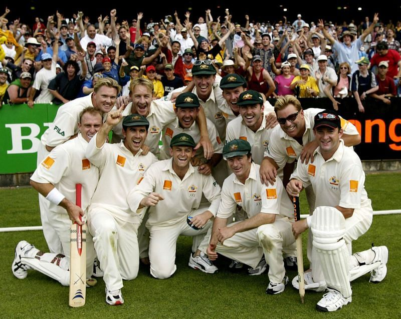 The Invincible Australian Cricket Team of the 2000s