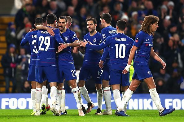 Chelsea progress to the next round of the FA Cup