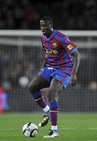 Toure was signed from Monaco