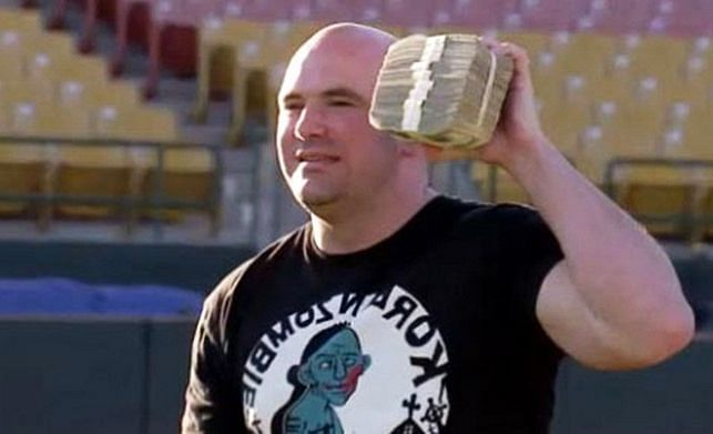 Dana White with them stacks.