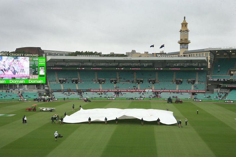 Rain In Sydney Ground