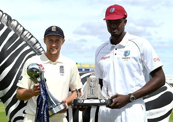 The Test series between West Indies and England would be an important event for both teams