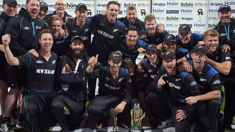 Series won newzeland